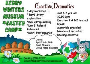 Creative Dramatics Easter Camp