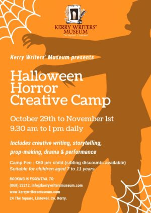 Halloween Horror Creative Camp
