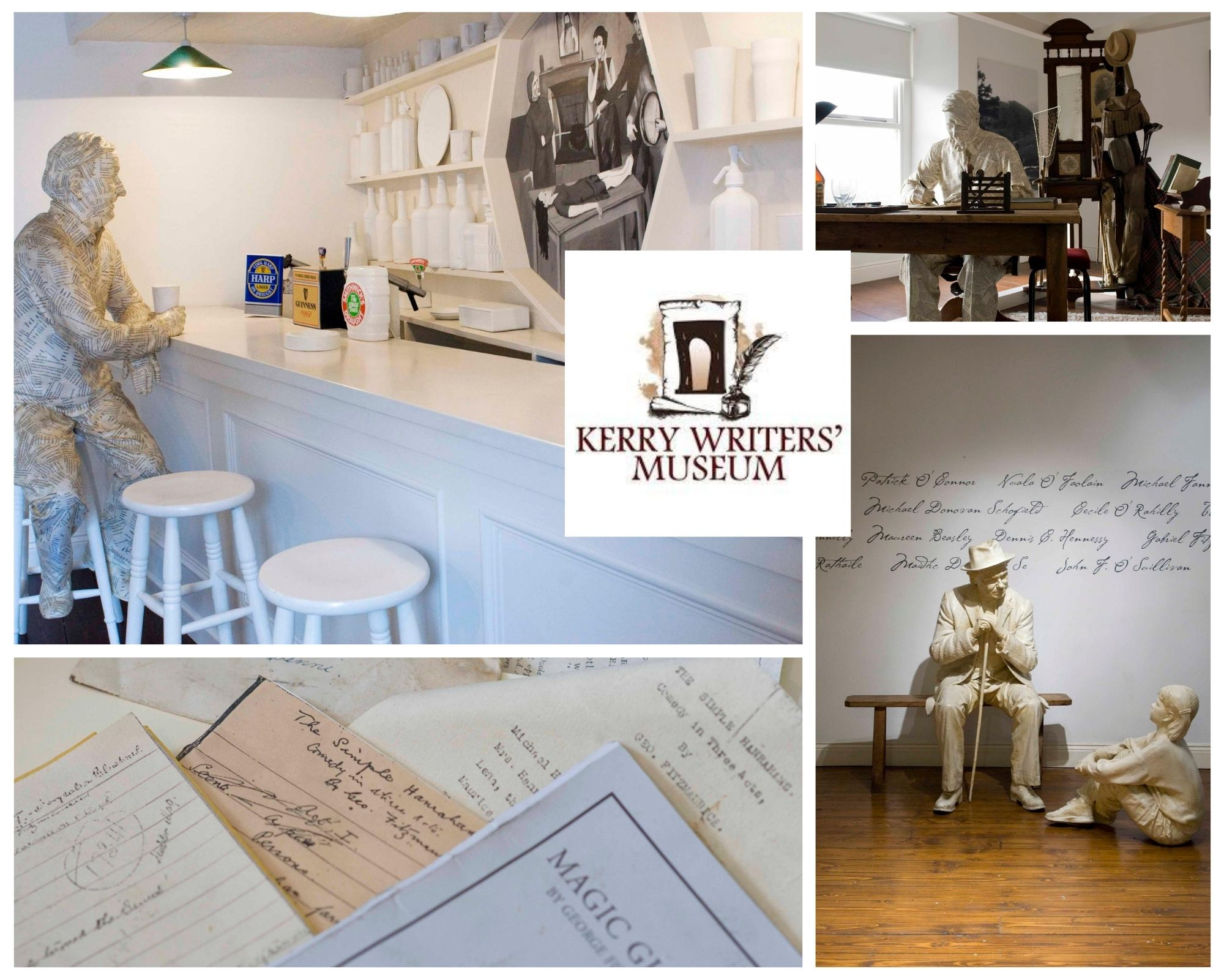 Kerry Writers' Museum Photo Collage
