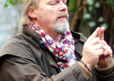 Colin Urwin, storyteller and musician